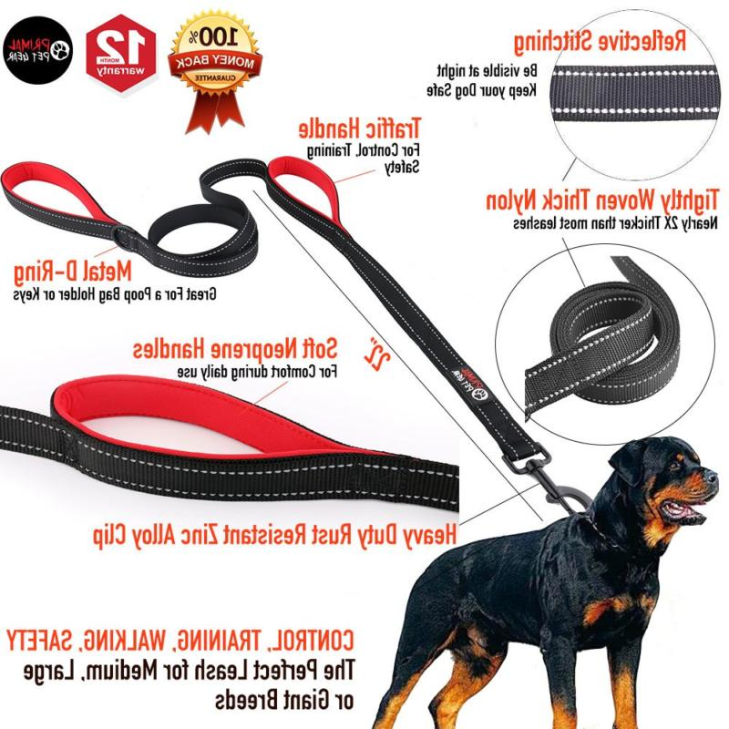 Primal Dog Leash 8ft Long - Traffic - Heavy Duty Do
