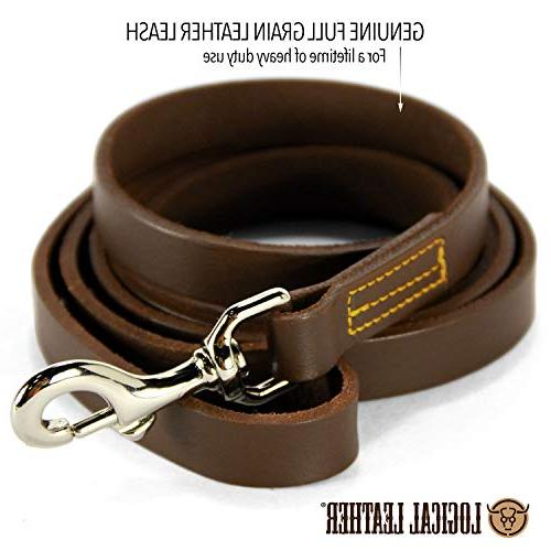 Logical Dog - Best for Best Water Grain Lead Brown