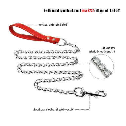Dog Chain Dog Leads with Duty Pet Leashes