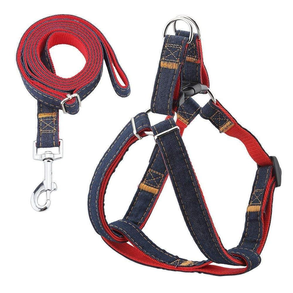Urpower Dog Leash Harness Adjustable  Durable Leash Set  Hea