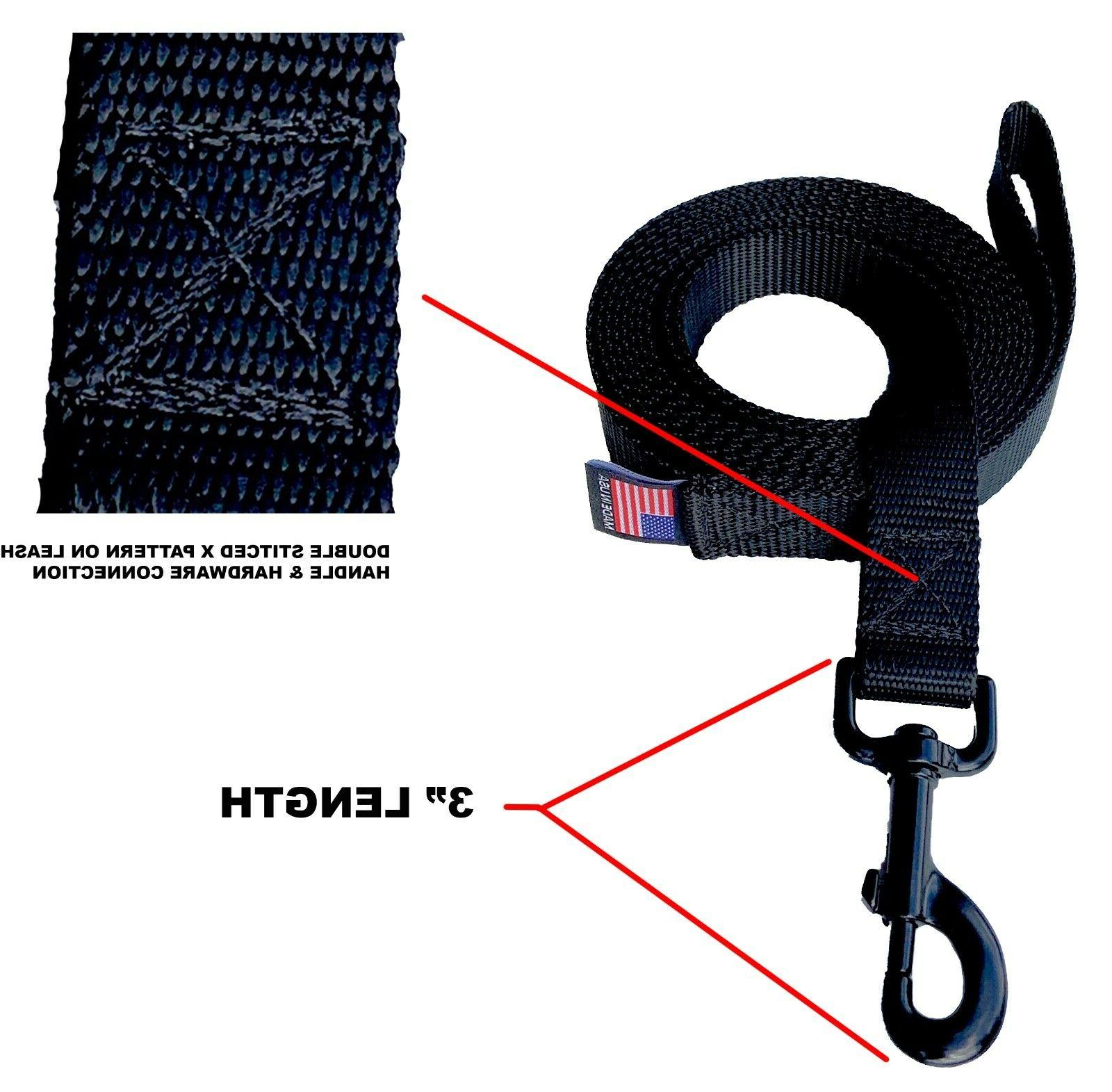 Dog Leash Obedience Training Many Colors/Lengths MADE IN