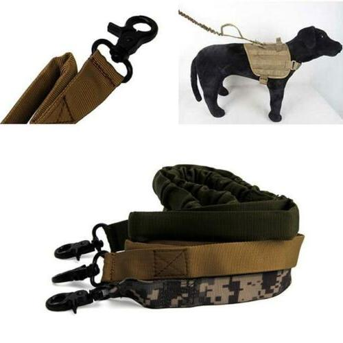 Dog Police Training Bungee Canine Collar