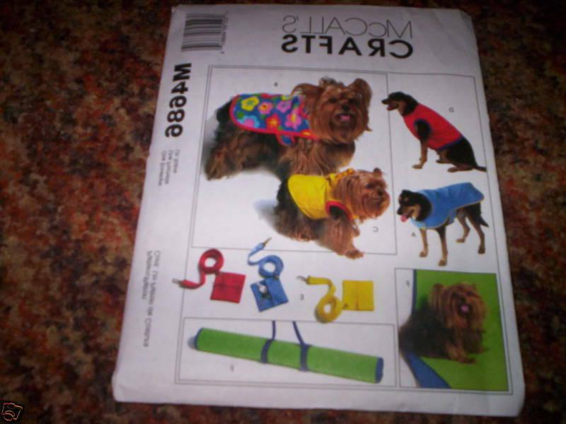 dog pet clothes accessories sewing pattern m4686