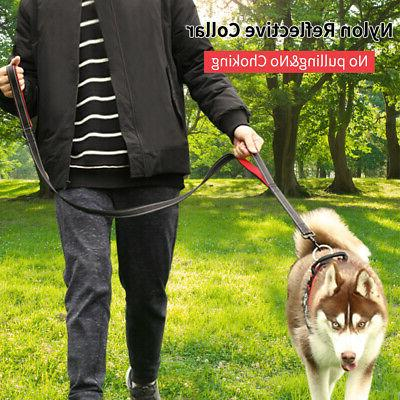 Dog Pet Comfortable Collar for Large Lead