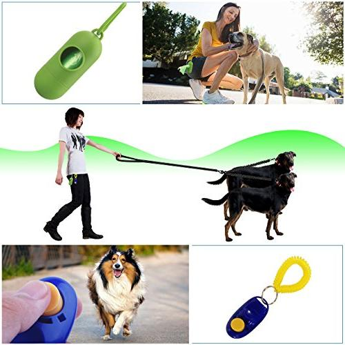 Dual Dog Dog Swivel & Training Comfortable for waste bag