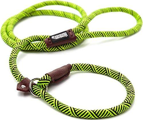 Friends Forever Durable Dog Rope Leash, Quality Mountain Rope Lead, Sturdy Comfortable Leash Supports 6 feet,