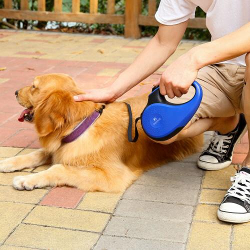 5M/16FT Retractable Walking Tape Dog