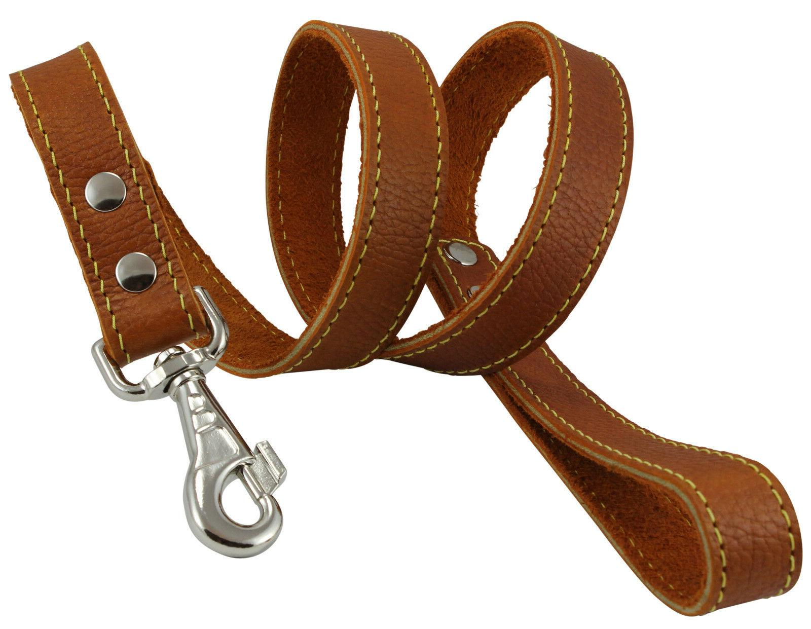 """Genuine Thick Leather Leash 4' 1"""" wide, for Xlarge"""