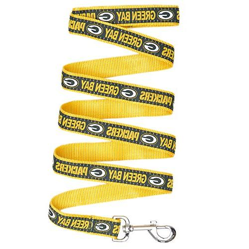Pets First Green Bay Packers Pet Leash, Medium