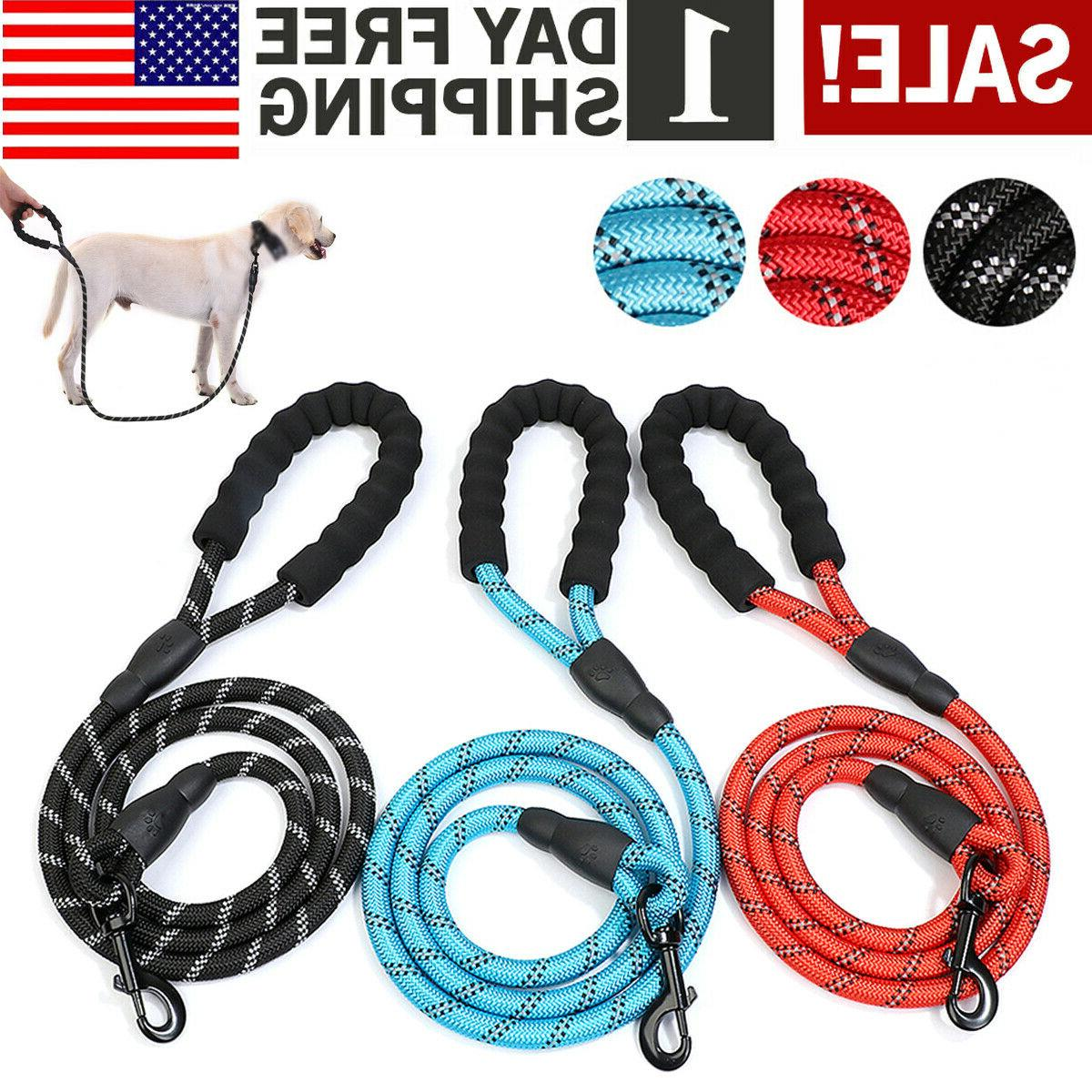 Dog Training Heavy Duty Braided Rope with Dogs
