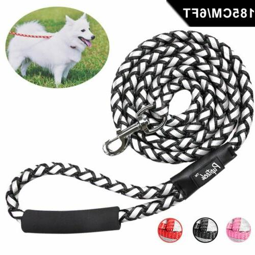6 FT Dog Leash Heavy-duty Rope for Large Dogs Walking