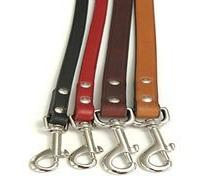 Leather Town Lead - Burgundy - 48 inches x ½ inch