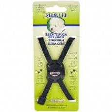 Lil Pals Combo Daisy Dog Harness Color: Black