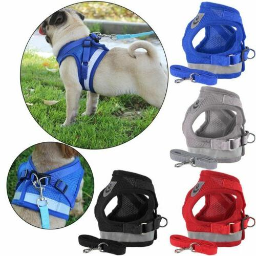 Pet Small Puppy Harness Breathable Strap XS-XL