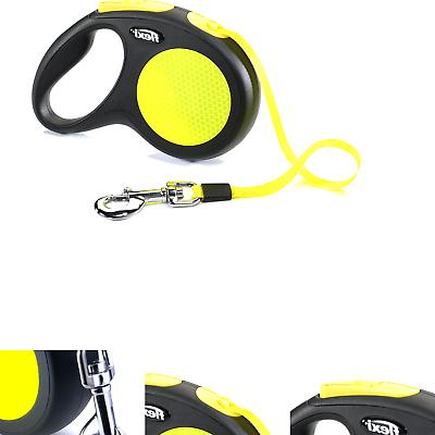 neon retractable 16 dog leash