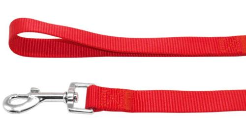 "Nylon Durable Dog Leash Pet Leads 48"" Length Soft for Walking 4 Sizes"