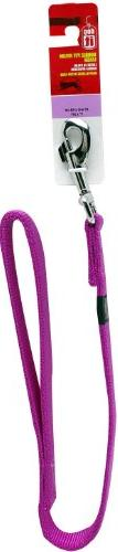 Dogit Nylon Single Ply Dog Leash with Silver Plate Bolt Snap