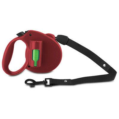 PAW Bio 16FT Retractable Pet Dog 110LB Leash with Green Pick