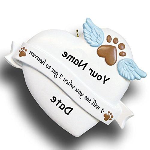 personalized pet remembrance memorial christmas