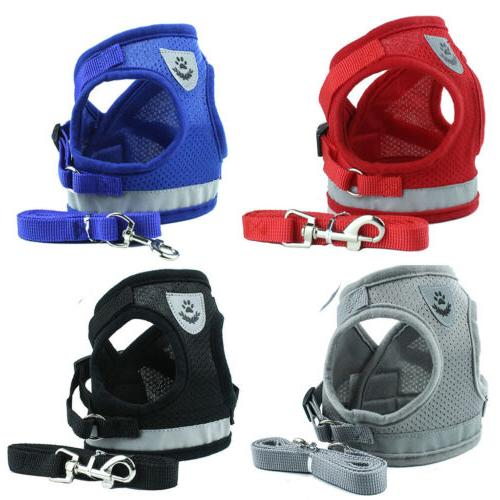 Pet Dog Harness Breathable And Leash Strap