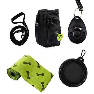 Pet Training & Behavior Aids Treat Pouch With Dog Leash Smal
