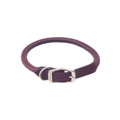 petco 3 rolled leather collar