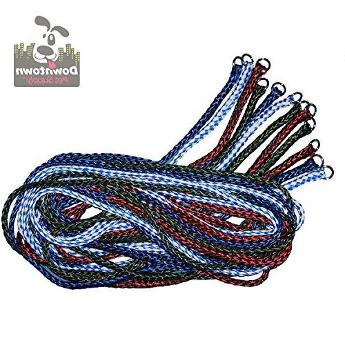 durable braided poly slip leads