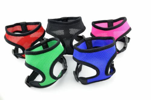 Dog Harness Lead Mesh Travel Seat Belt to Dog
