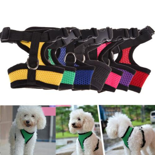 dog harness lead leash mesh vest travel