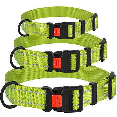 Reflective Collar Leash Set Puppy Dog Collars Small Dogs