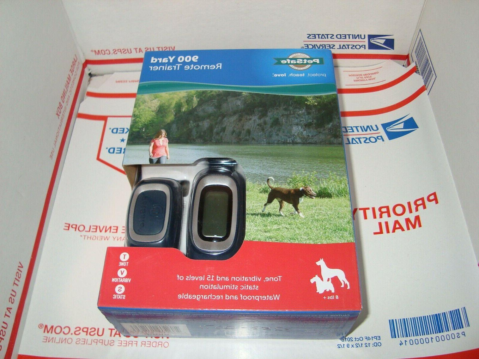 remote trainer dog static rechargeable waterproof collar