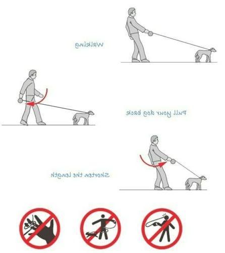 Retractable Feet Dog for Medium up to...