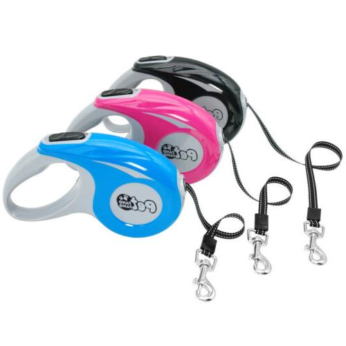 Retractable Dog 5M Reflective Dogs Leashes