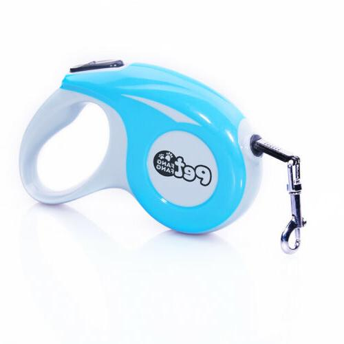 Retractable Dog 3M 5M Automatic Pet Reflective Rope Lead Leashes