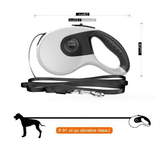 Retractable Leash Duty Large Pet Nylon Ribbon 16ft