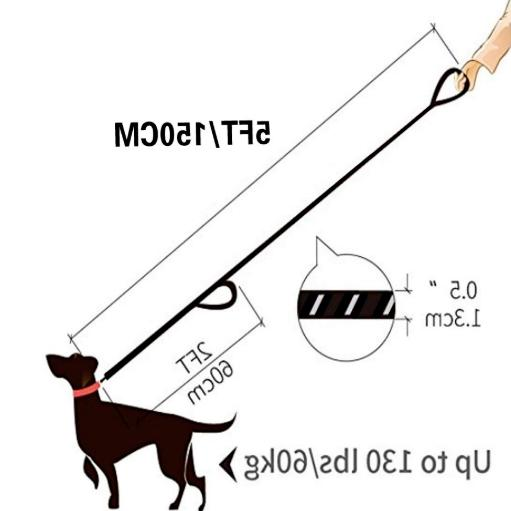 Rope Reflective for Large Medium Dogs