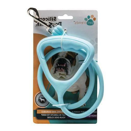 Pet Silicone Dog Leash -Length - dogs up 110#
