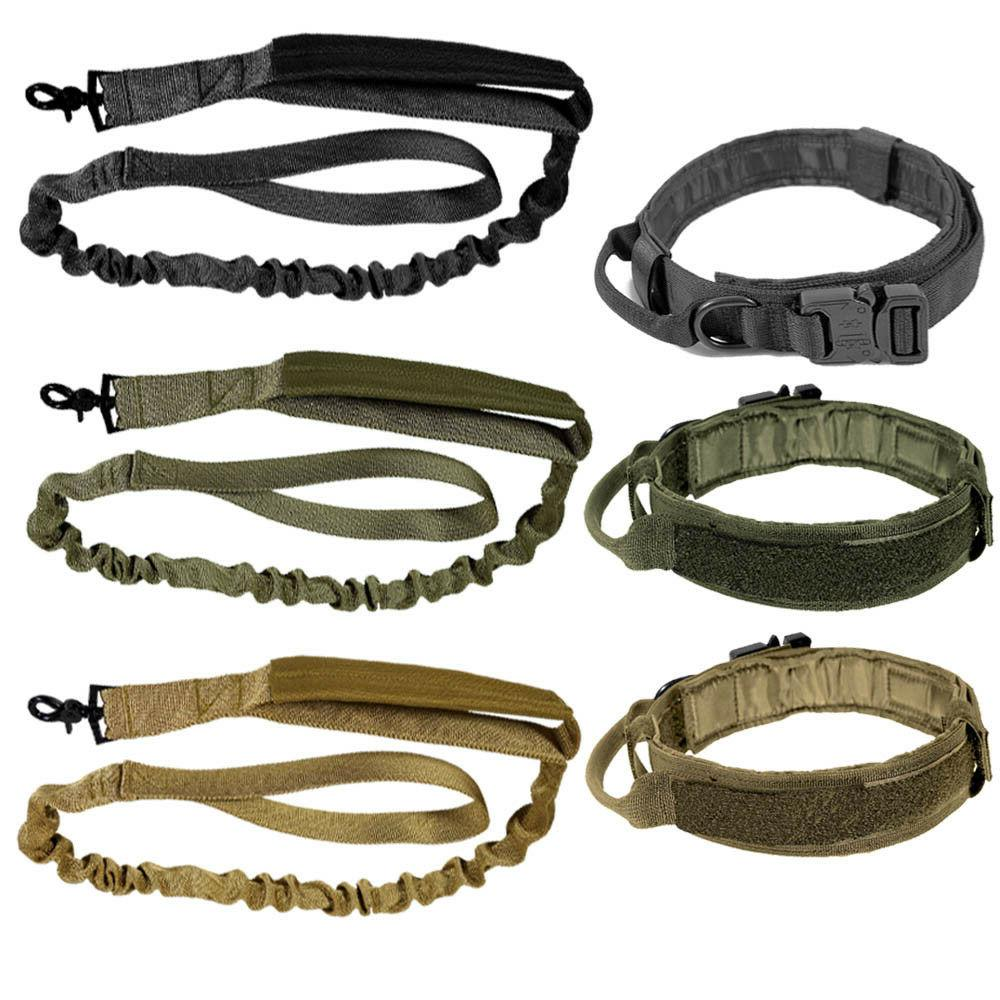 tactical k9 dog collar or leash harness