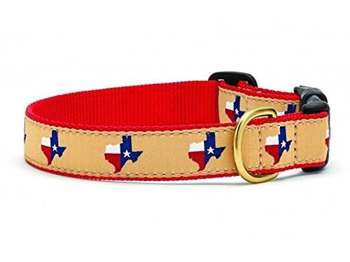 texas red collar small narrow