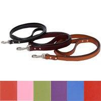 "Auburn Leathercrafters Town Dog Leash black-color 72"" L x 1/"