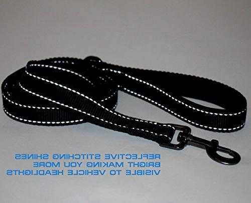 Max Neo&Trade; Handle Traffic Reflective - Donate a Leash Dog Rescue for Leash Sold
