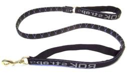 ROK Straps Large Leash, Reflective Black