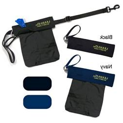 Leash-it Bag - Hands Free Carrying of Dog Waste, Black
