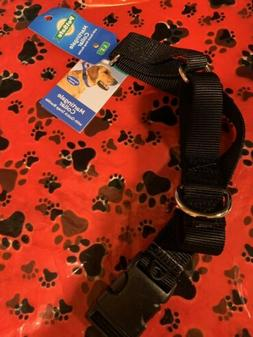 martingale dog collar with quick snap buckle