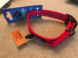 Max and Neo MAX Reflective Metal Buckle Dog Collar - Size Sm