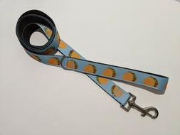 """Mexican Food, Taco Tuesday Pet or Dog Leash 1"""" Wide"""