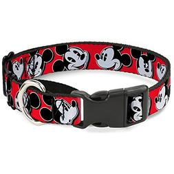 Buckle Down MGC-WDY098-WM Martingale Dog Collar-Mickey Mouse