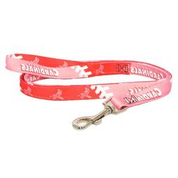 MLB St. Louis Cardinals Pet Lead, Pink, Small