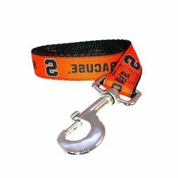 ncaa syracuse dog leash by