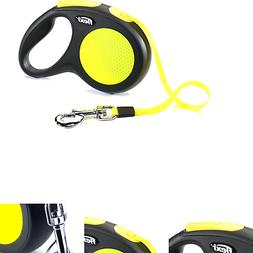 Flexi New Neon Retractable 16 Dog Leash Tape, Medium Large,